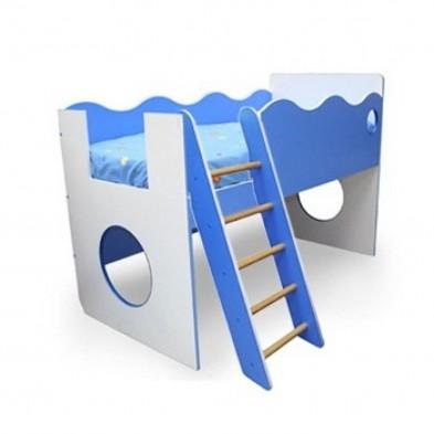 Кровать с лесенкой «Морячок»