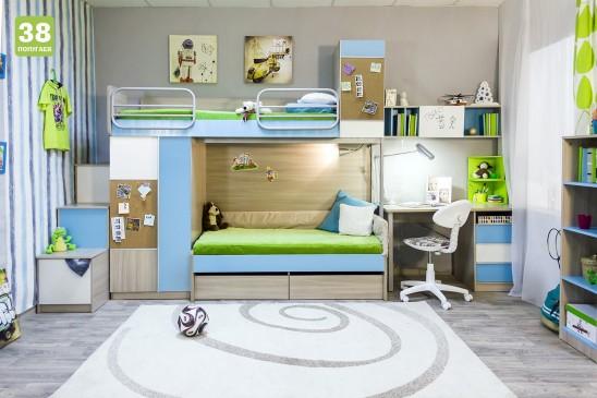Модульная детская мебель «Твист»