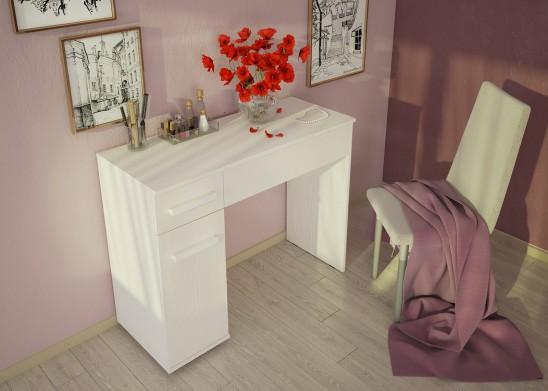 Стол туалетный 13 «BAUHAUS» бодега светлый