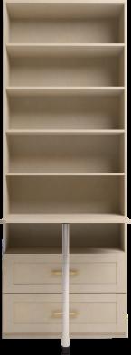 Шкаф комбинированный 47 «Скандинавия-Люкс»