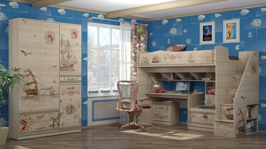 Модульная детская мебель «Квест»