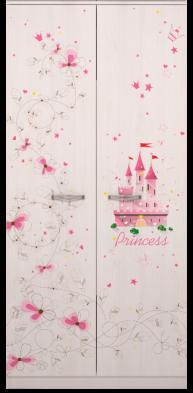 Шкаф для одежды 01 «Принцесса»