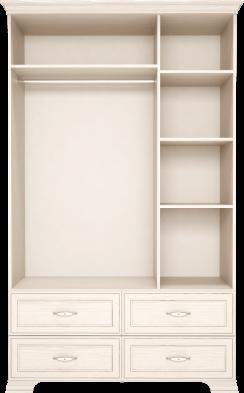 Шкаф для одежды 3-х дв с ящиками (с зеркалом) 01 «Венеция»