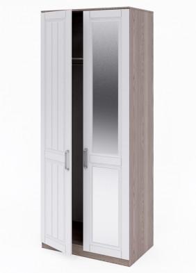 «Аллегро» №01 шкаф 2-х дверный левый с зеркалом / 534
