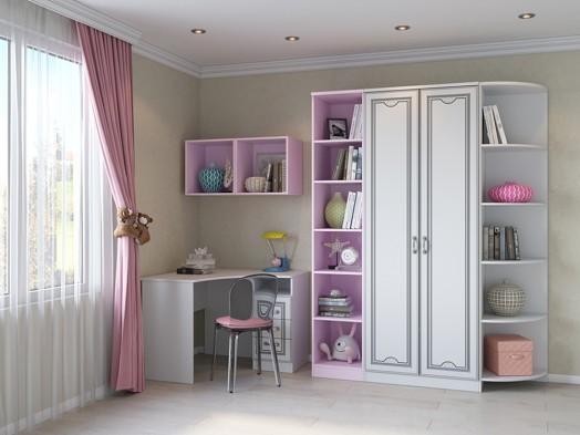 Модульная детская мебель «Мальвина ЛЮКС»
