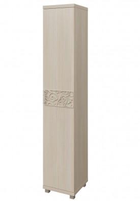 Шкаф-пенал для белья (1 дверь) 12 «Ирис» Бодега светлый