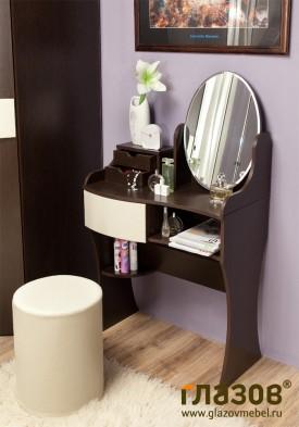 Спальня «Амели» 14 Столик туалетный с зеркалом