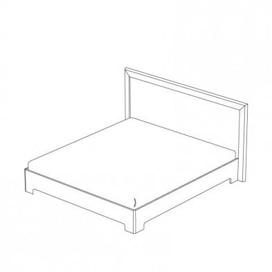 Двуспальная кровать с ортопедическим основанием спальня «Вега прованс»