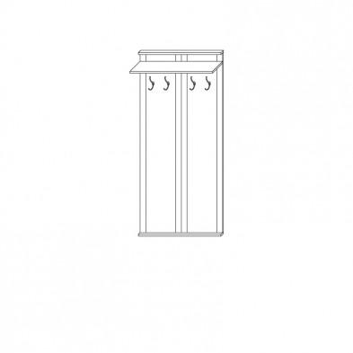 Прихожая «Цна-М» вешалка настенная (11)