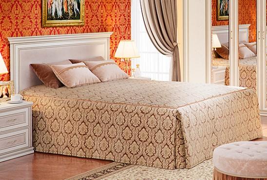Кровать двуспальная с ортопедическим основанием «Венето»