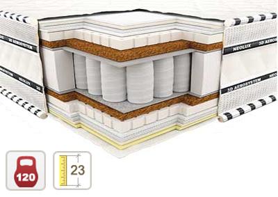 Ортопедический матрас 3D Империал Латекс-Кокос