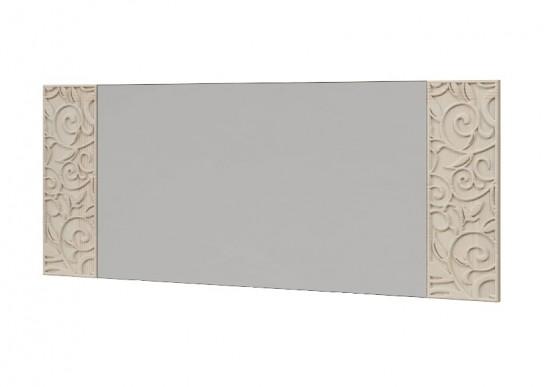 Зеркало настенное со вставками 18 «Ирис» Бодега светлый