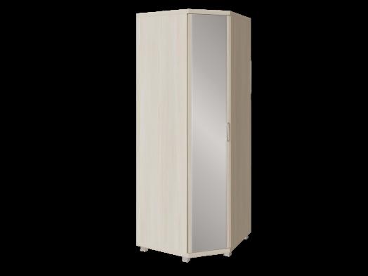 Шкаф угловой с зеркалом 21 «Ирис» Бодега светлый