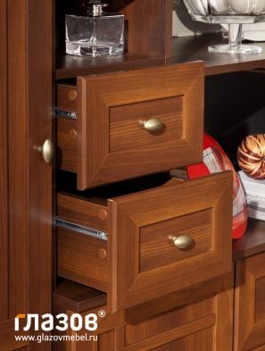 Модульная мебель для гостиной «Sherlock» орех шоколадный