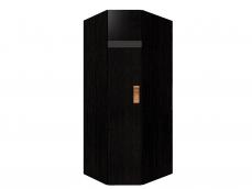 «Hyper» Шкаф угловой 1 венге/левый