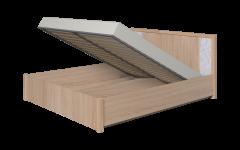 «WYSPAA» Двуспальная кровать с подъемным механизмом