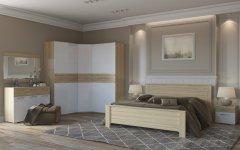 Спальный гарнитур «Элен» белый глянец