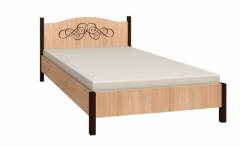 «ADELE» Кровать двуспальная / односпальная + деревянное основание