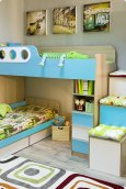 Детская кровать «Беби-бум» с 2мя ящиками
