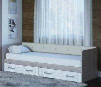 «Аллегро» 21 Диван-кровать детская 2ящ без мягкой спинки