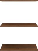 Полка (комплект 3 шт) к модулям 01, 18 «Лондон»
