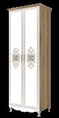 Шкаф для одежды 2-х дверный 16 «Династия»