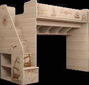 Детская кровать комплекс универсальный (с лестницей) 18 «Квест»