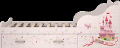 Кровать на 900 с ящиками (комплектация 1) 05 «Принцесса»