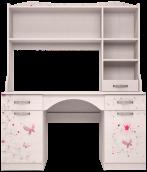 Стол письменный с надстройкой 06+11 «Принцесса»