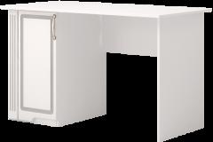Письменный стол 34 «Виктория» Белый глянец