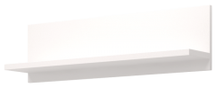 Полка навесная 41 «Виктория» Белый глянец