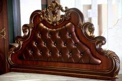 «Розалия» Двуспальная кровать КМК 0456.6 (высокая)