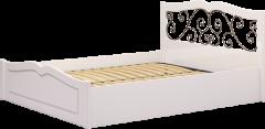 Кровать двуспальная с орт.основанием «Лукреция»