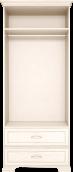 Шкаф для одежды 2-х дв. с ящиком 17 «Венеция»
