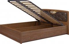 Кровать двуспальная (мягким элемент) с подъемным мех-мом 29 «Лондон»