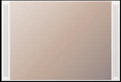 Зеркало настенное (07) «Виктория» белый глянец