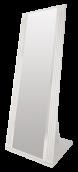 Зеркало напольное (08) «Виктория» белый глянец