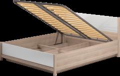 Двуспальная кровать с подъемным механизмом «Вива»