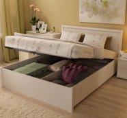 Кровать с подъемным механизмом «BAUHAUS» бодега светлый