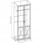Модульная спальня «ADELE» 8 Шкаф для одежды