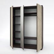 Шкаф для одежды 3Д КМК 0555.7 «Нирвана»