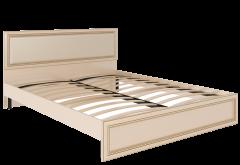 Кровать с ортопедическим основанием и мягкой спинкой м.10 «Беатрис»