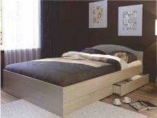 Кровать двуспальная с ящиком «Веста» (ящик отдельно)