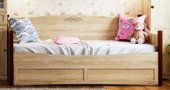 Кровать с дополнительным спальным местом «ADELE»