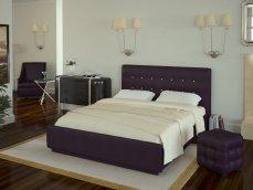 Кровать «Лорена» Кровать двуспальная+орт.осн (без страз) Boom Viola