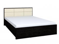 Двуспальная кровать «Амели» Люкс, металл основание (высокая спинка)