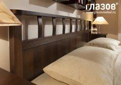 «Sherlock» Кровать двуспальная Люкс + металл основание